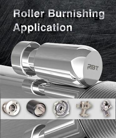 aplicaciones de herramientas de bruñido de rodillo RBT