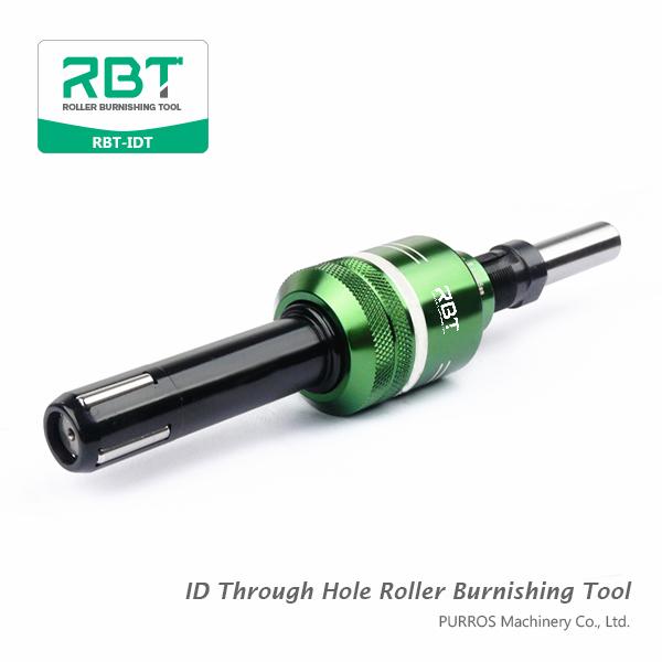 Herramienta de bruñido de rodillos a través de orificios a través de los agujeros interiores Herramienta de bruñidos de rodillos a través de orificios RBT-IDT