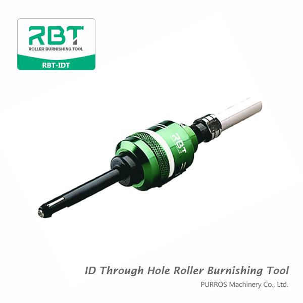 Herramienta de pulido de rodillo de diámetro interno a través de agujeros, herramienta de bruñido de rodillo de diámetro interno RBT-IDT