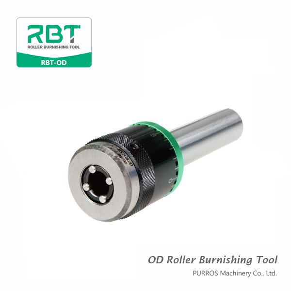 Gama de alta calidad de herramienta de bruñido de rodillo OD (herramienta de bruñido de rodillo de diámetro exterior) RBT-OD